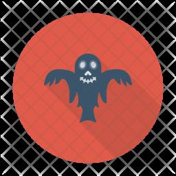 Creepy ghost Icon