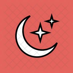 Crescent Glyph Icon