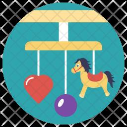 Crib Mobile Icon