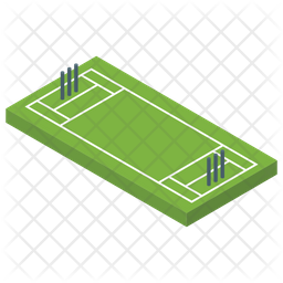 Cricket Pitch Icon