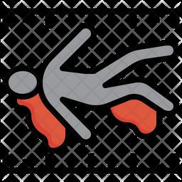 Crime scene-murder-scene-kill-weapon Icon
