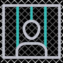 Criminal Colored Outline Icon