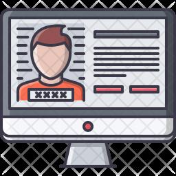 Criminal database Icon