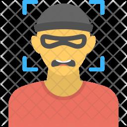 Criminal Surveillance Icon