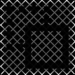 Crop Line Icon