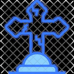 Cross Dualtone Icon