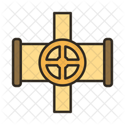 Cross oil pipe Icon