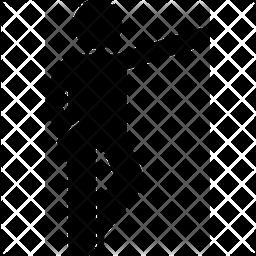 Crossed leg Icon