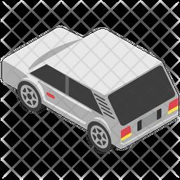Crossover Car Icon