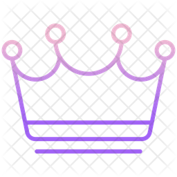 Crown Icon Of Gradient Style Available In Svg Png Eps Ai Icon Fonts