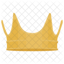 9a4a84f28f Crown Icon of Flat style - Available in SVG