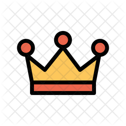Crown Icon Of Colored Outline Style Available In Svg Png Eps Ai Icon Fonts