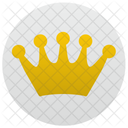 Crown, Queen, Luxury, App, Label Icon