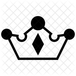 Crown Symbol Line Icon