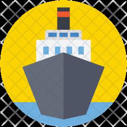 Cruise Flat Icon