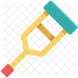 Crutches Icon