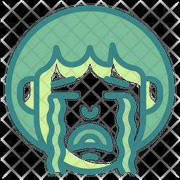 Cry Emoji Icon