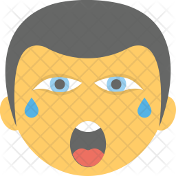 Crying Emoji Icon