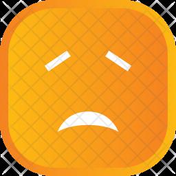 Crying face Emoji Icon