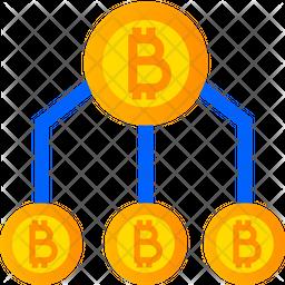 Crypto Structure Gradient Icon