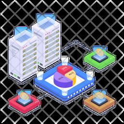 Cryptocurrency Exchange Platform Icon