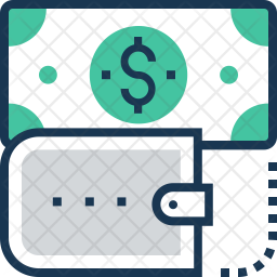 Currency Colored Outline Icon