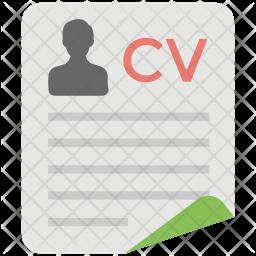 Premium Curriculum Vitae Icon Download In Svg Png Eps Ai Ico