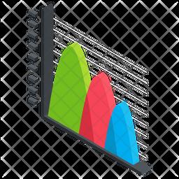 Curve Graph Icon