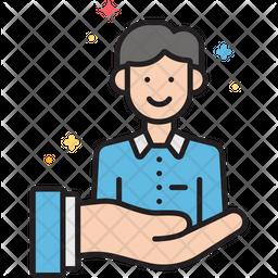 Customer retention Icon