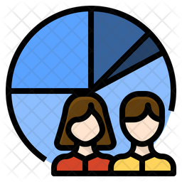 Customer Segment Icon Of Colored Outline Style Available In Svg Png Eps Ai Icon Fonts