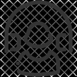 Customer Line Icon