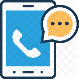 Customer support Colored Outline Icon