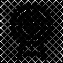 Customer target Icon