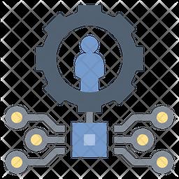 Customize Technology Icon