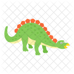 Cute Ankylosaurus Dragon Icon