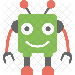 Cute Robot Icon Of Flat Style Available In Svg Png Eps Ai Icon Fonts