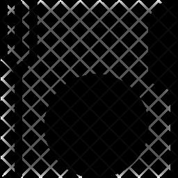 Cutlery set Glyph Icon