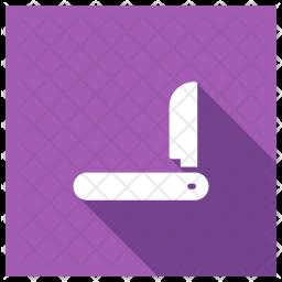 Cutter Glyph Icon