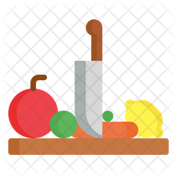 Cutting Board Icon Of Flat Style Available In Svg Png Eps Ai Icon Fonts