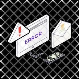 Cyber Crime Isometric Icon