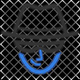 Cyber Criminal Icon