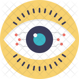 Cyber Eye Icon Of Flat Style Available In Svg Png Eps Ai Icon Fonts