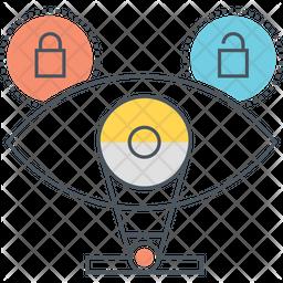 Cyber Identity Icon