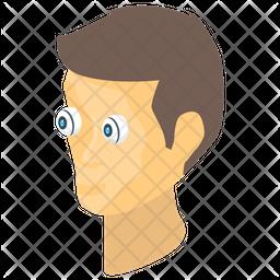 Cyborg Humanoid Technology Icon