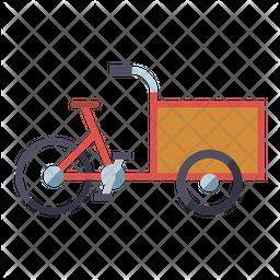 Cargo Bike Icon