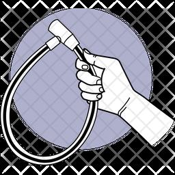 Cycle Lock Dualtone Icon