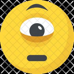 Cyclops Emoji Icon