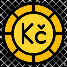 Czech Koruna Icon