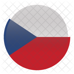 Czech Republic Flag Icon Of Flat Style Available In Svg Png Eps Ai Icon Fonts