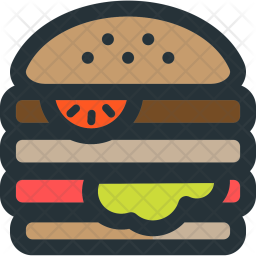 Dabel, Cheese, Burger Icon png